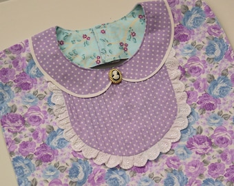 Bib Yoke Dress Style -  Cute Bib -  Special Occasions and Everyday Use