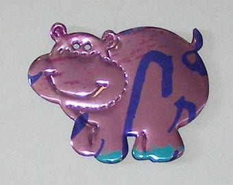 Hippo - Pink Berry La Croix Sparkling Water Soda Can Magnet