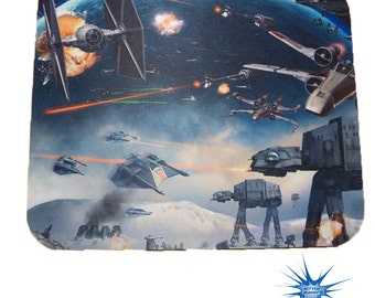 Star Wars Battle scene Anti Slip PC Gamer Picture Mouse Pad