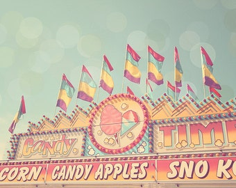 Candy Apple, Candy Art, Sweet Sugar, Pink Candy, Cotton Candy, Carnival Photograph, Circus Photography, Pastel Photography, Nursery Artwork