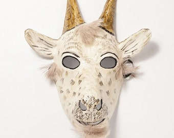 New Year goat paper mask