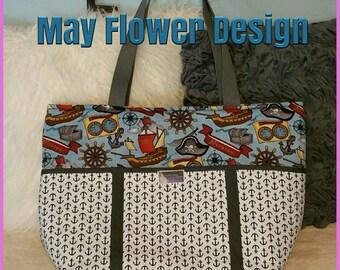Pirate Diaper Bag