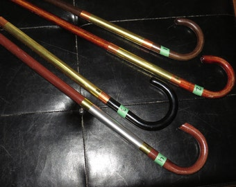 Cane #4 Hook Cane Steampunk walking stick