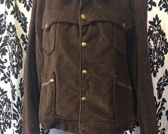 1970's Mens Brown Corduroy Jacket