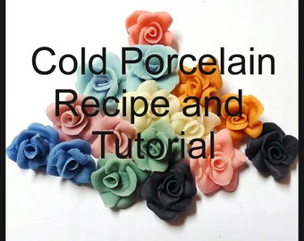 Cold Porcelain Clay Tutorial