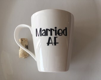 Married AF - Custom Coffee Mug