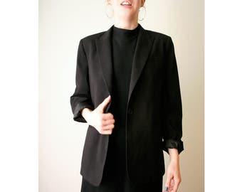 90s Calvin Klein Black Blazer