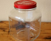 Vintage Alta Coffee Jar Vintage Large Coffee Jar Large Clear Glass Coffee Jar from The Eclectic Interior