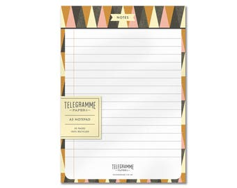 Notes A5 recycled notepad
