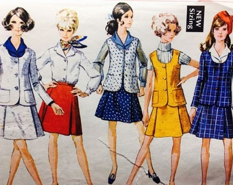 Vintage Outfits Simplicity 8041