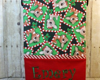 Rudolph The Red Nose Reindeer Pillowcases, Christmas Pillowcases, Boy Christmas gift, Girl Christmas gift, Holiday pillowcase