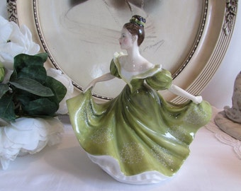 Royal Doulton 'Lynne' England.  Fine Porcelain, china collectable figurine