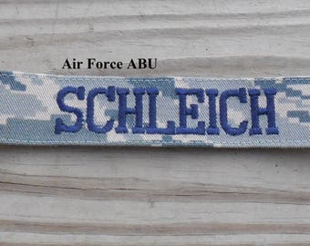 Military Name Tape or Name Patch Air Force ABU Custom Name Tapes