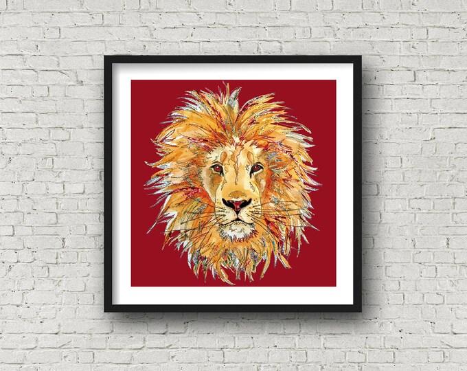 Lion - Print