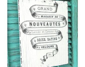 French bathroom sign Etsy