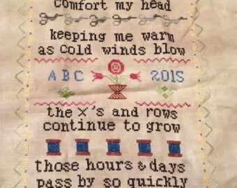 Finished Cross Stitch-Stitching Comforts