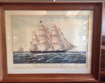 Clipper Ship Flying Cloud Litho Print
