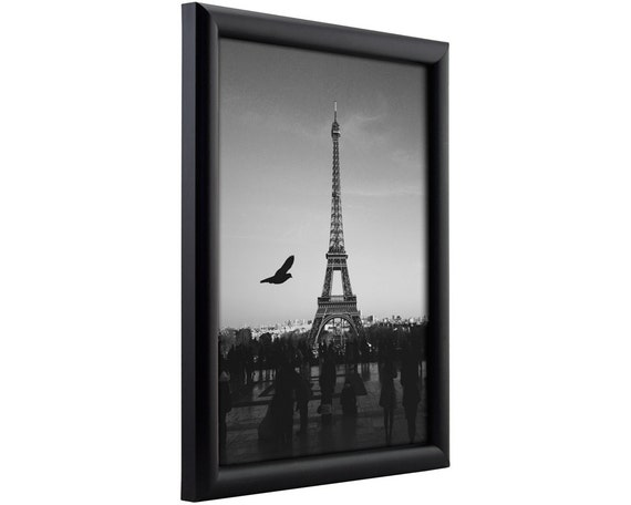Craig Frames 24x36 Inch Contemporary Black Picture Frame