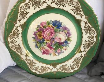 "Rosenthal Ivory Bavaria plate 10-1/2"""