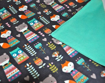 Weighted Blanket, Sensory weighted Blanket, Animal weighted blanket, Sensory calming blanket, Kids weighted blanket, nature weighted blanket