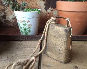 Small Vintage Gold Cowbell
