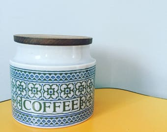 Hornsea Tapestry Coffee Jar