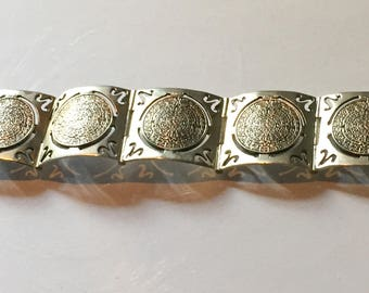 Mexican Sterling Silver Bracelet, Taxco Vintage Jewelry Mothers Day SPRING SALE
