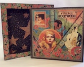 """Vintage Hollywood 11"""" Album and Case"""