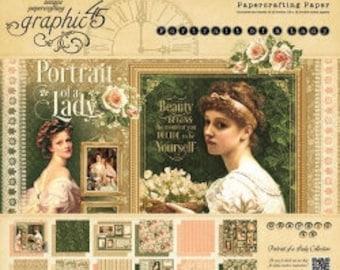 Portrait of a Lady 12x12 Paper Pad by Graphic 45 - SALE