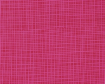 Hello Love by Heather Bailey for Free Spirit - Get Back - Red - 1/2 yard Cotton Quilt Fabric 217