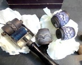 French vintage Textile Roller Stamps Embroidery Sewing Supplies