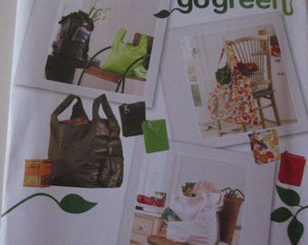 Simplicity Pattern 2806 Go Green Bags