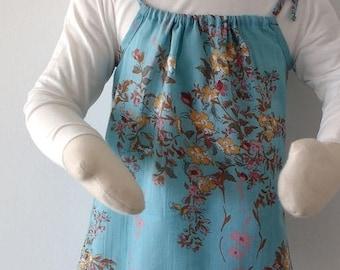 Girl pillowcase  cotton dress pima gauze baby dress boho pillowcase summer dress
