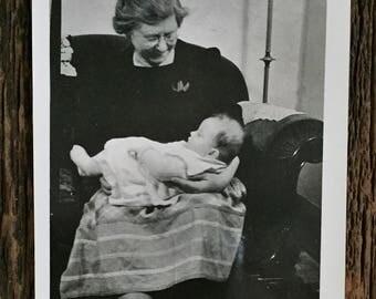 Original Vintage Photograph Angelic Sleeper 1941