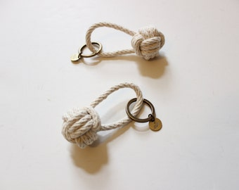 Rope Knot Keychain