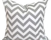 GRAY OUTDOOR PILLOW Sale.14 inch Decorative Pillow Cover.Chevron.ZigZag.Indoor Outdoor Pillow.Throw Pillow.Toss Pillow.Outdoor .Gray.cm