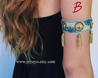 Best selling music festival jewelry, Upper arm cuff armcuff Bracelet, prom jewelry accessories, Arm Band Body Jewelry, Top Selling Shops