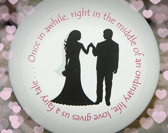 Shower Favor, Unique Shower Favor, Bridal Shower, Wedding, Wedding Shower, Whipped Body Butter, Bridal Silhouette - Design No. 1)