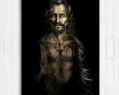 SALE ONE AVAILABLE** Sirius Black Painting - 11 x 17 Fine Art Print