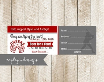 jack and jill ticket templates - jack and jill ticket etsy
