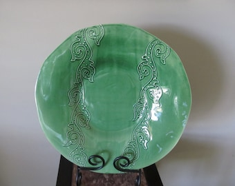Ceramiche Toscane large platter,Arts and collectibles home and living, 20 % off sale
