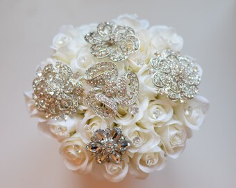 Ready to Ship Custom Brooch Bouquet Home Decor Valentines Day