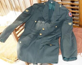 1940's WW2 Army Suit 100% Wool Mens Uniform