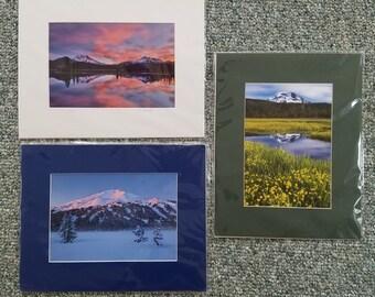 3 Signed Dorothy Eberhardt Photography 11 x 14 Photographs Bend Oregon Sparks Lake Sunrise 11/250 South Sister 18/250 Mount Bachelor 15/250