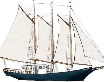 cargo schooner Black Seal