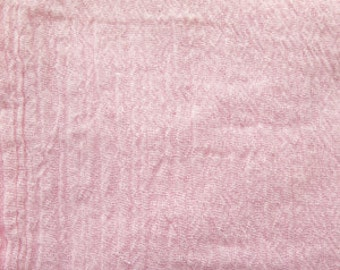 52 Inch Cotton Gauze Pink Fabric by the yard - 1 Yard