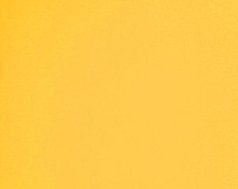 Cotton Jersey Stretch Spandex Yellow 58 Inch Fabric by the yard - 1 Yard