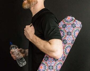Yoga Mat Bag, Pilates Mat Bag, Canvas Yoga Mat Bag, Yoga Gift