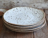 Speckled Side Plate - Side Plate - Rustic Plate - Ceramic Plate - Pottery Plate