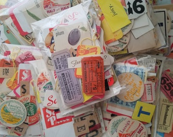 "100 pc Vintage Ephemera Pack The 4 x 5"" Vegas Buffet"